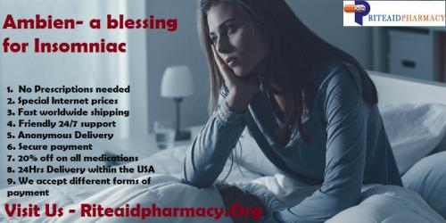 Ambien- a blessing for Insomniac | Buy Ambien Online | Rite Aid Pharmacy