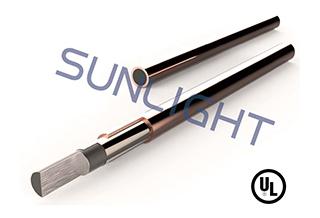 Copper bonded steel rod