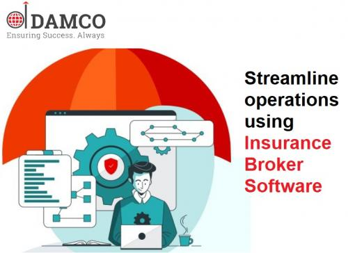 Streamline operations using Insurance Broker Software
