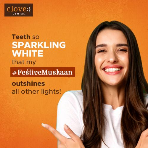 Teeth Whitening Treatment from Clove Experts
