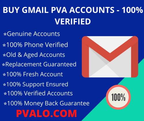 BUY GMAIL PVA ACCOUNTS - 100% VERIFIED