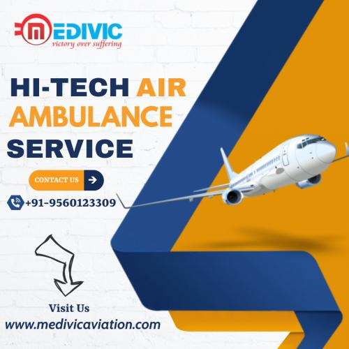 Extensive Medevac Service Offered by Medivic Air Ambulance in Patna