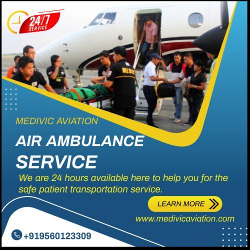Quality Medevac Service Offered by Medivic Air Ambulance in Patna & Delhi