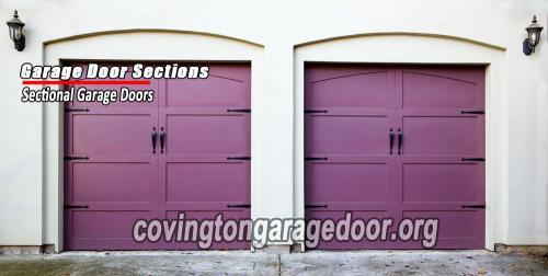 Covington-garage-door-garage-door-sections
