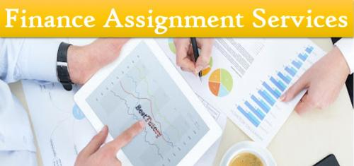 Finance Assignment Services