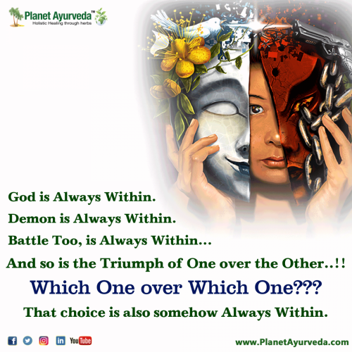 God or Demon - Choice is Yours