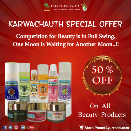 Karwa Chauth - Special Offer on Beauty Products