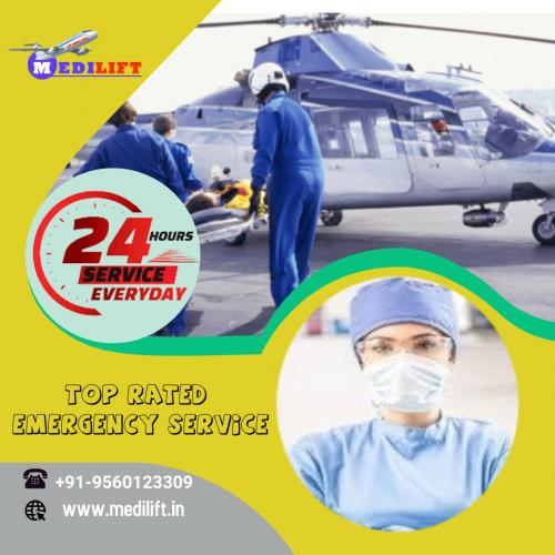 Access Rapid Nursing with Medilift Air Ambulance Service in Patna