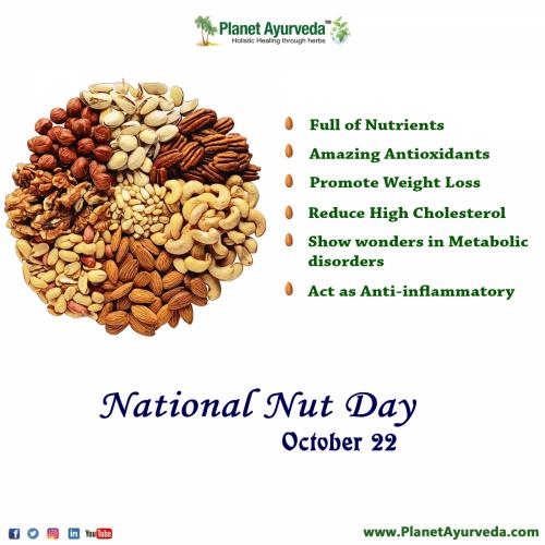 National Nut Day - October 22, 2021