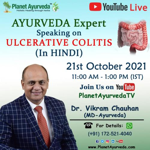 Live Session By Dr. Vikram Chauhan ( MD - Ayurveda)