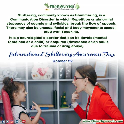 International Stuttering Awareness Day - 22nd October