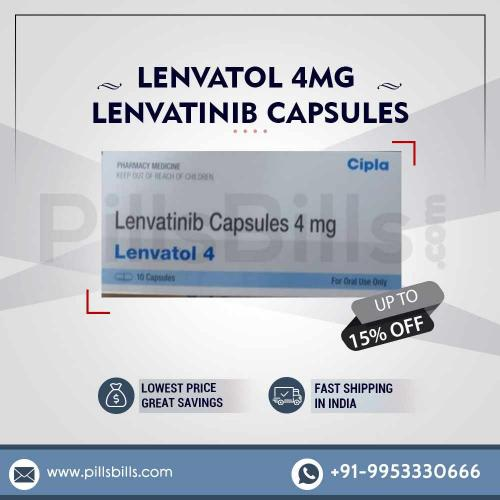Buy Online Lenvatol 4mg in India