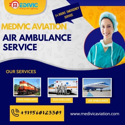 An Ethical Medium of Repatriation Offered by Medivic Air Ambulance in Delhi