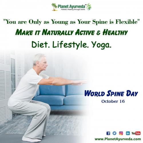 World Spine Day - Raise Awareness