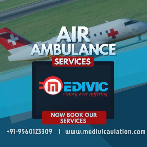 Avail Medivic Air Ambulance in Service in Bangalore & Chennai for Comfortable Commutation