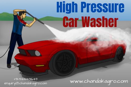 High-Pressure Car Washer