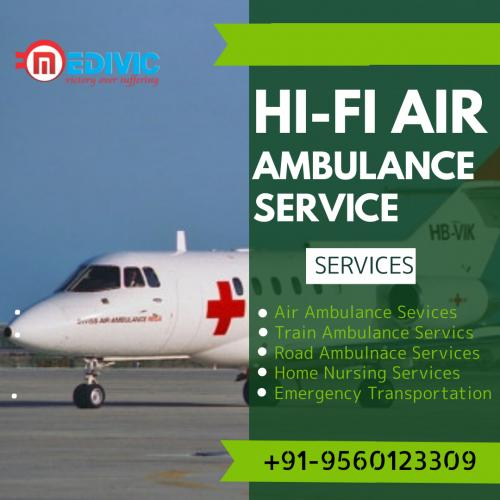 Medivic Aviation Air Ambulance in Delhi & Patna- Shift Patients with Onboard ICU