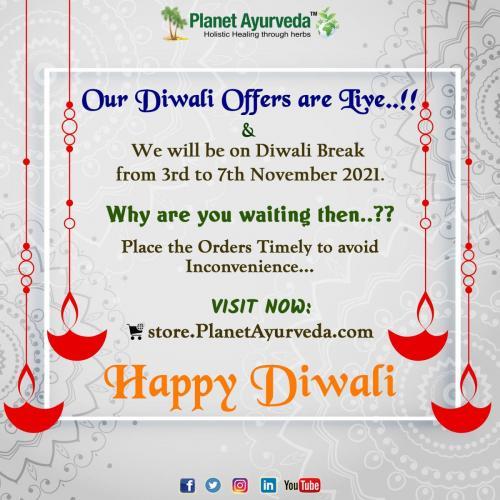 Diwali Offer Live - Planet Ayurveda