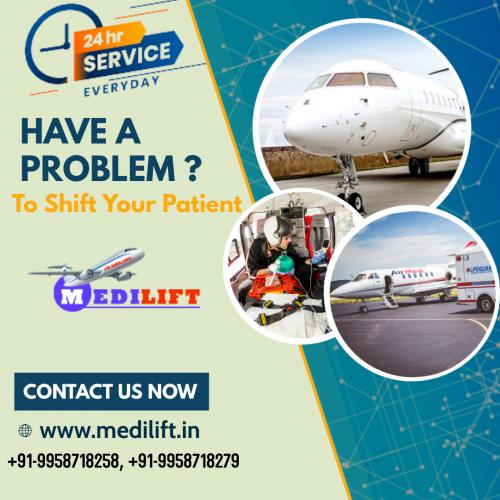 For Instant Repatriation Opt for Medilift Air Ambulance Patna