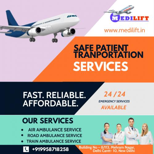 Medilift Emergency Air Ambulance Allahabad