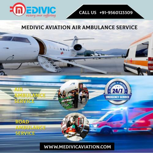 Opt for the Flying ICU Offered by Medivic Air Ambulance in Patna & Delhi