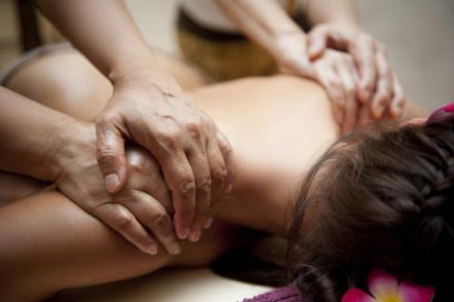 Manchester body scrub massage