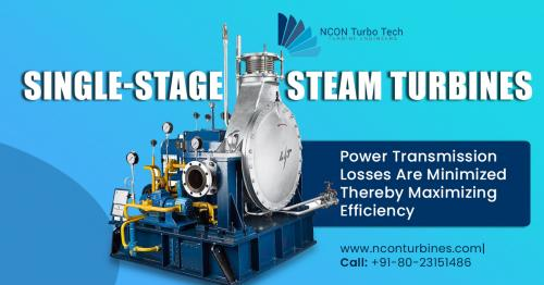 Single Stage Steam Turbine Manufactures