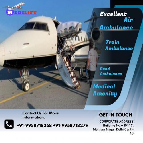 The Advanced Medical Support Air Ambulance Patna