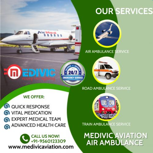 Transfer Patients Cost-Effectively with Medivic Air Ambulance in Delhi & Patna