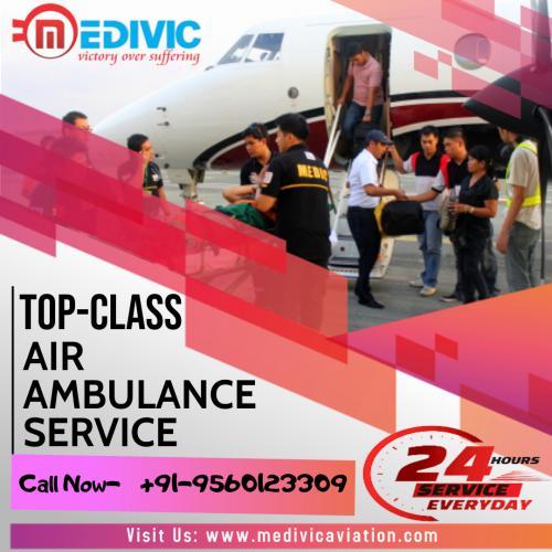 Medivic Air Ambulance in Patna & Delhi- Retrieving Patient for Enhanced Treatment