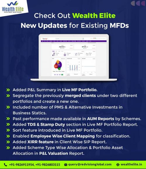 Which the best Mutual fund software provides alert system for Distributors?