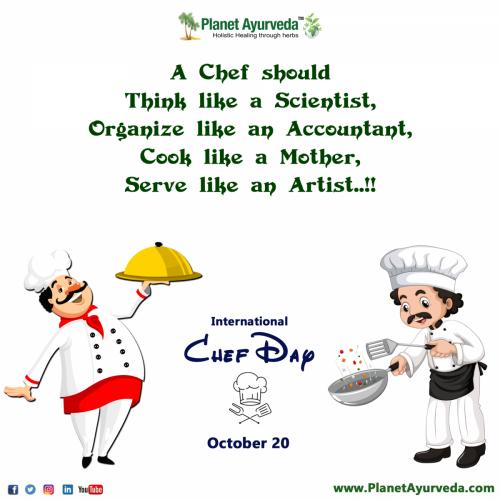 International Chef Day 2021