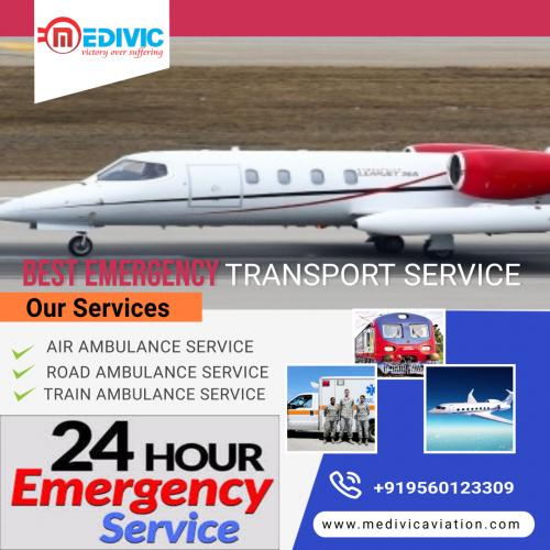 Restorative Relocation Performed with Efficacy by Medivic Air Ambulance in Patna & Delhi