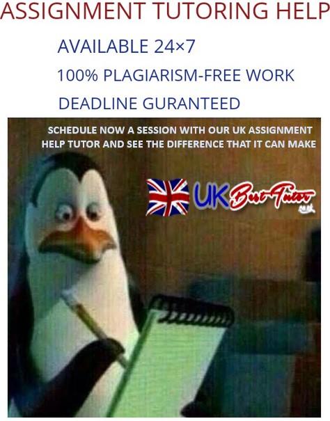 Assignment Tutoring Help