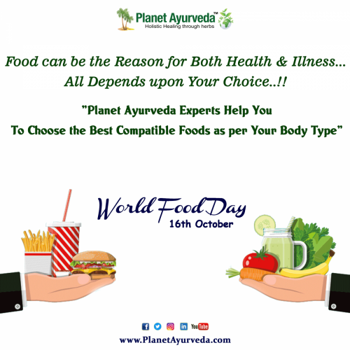 World Food Day - Stay Fit and Healthy
