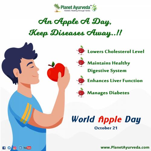World Apple Day - October 21, 2021