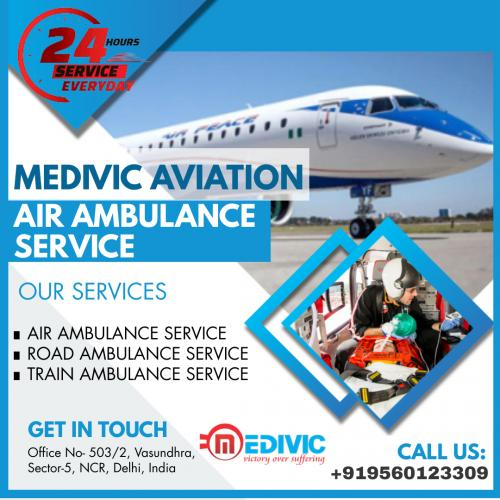 Exemplary Care Delivered by Medivic Air Ambulance in Patna & Delhi