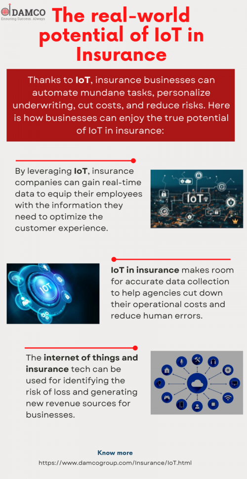 The real-world potential of IoT in Insurance