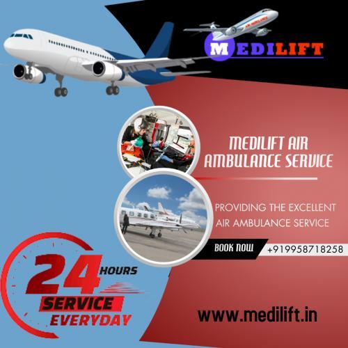 Use Medilift ICU Emergency Air Ambulance in Kolkata