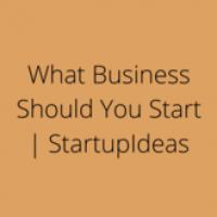 StartupIdeas